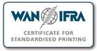 WAN-IFRA Certificate for Standardised Printing
